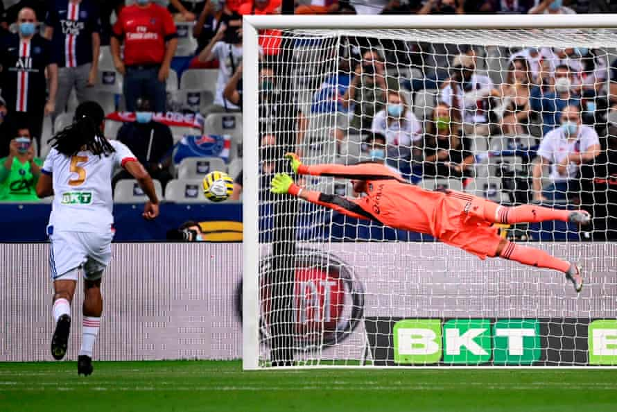 Anthony Lopes was brilliant against PSG in the Coupe de la Ligue final on Friday night.