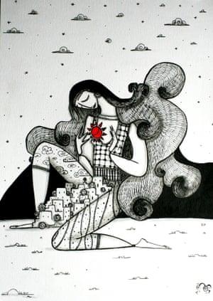 by Dima Nachawi, a Syrian artist