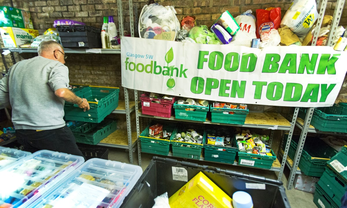 Biggest ever study of food banks warns use likely to increase   Food banks    The Guardian