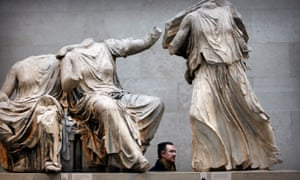 Part of the Parthenon sculptures, which have long been the subject of a reclamation dispute between Greece and Britain.