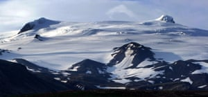 Ice-capped Öraefajökull, Iceland's largest volcano.