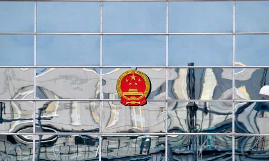 Chinese embassy in Berlin
