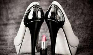 Stilettos and lipstick