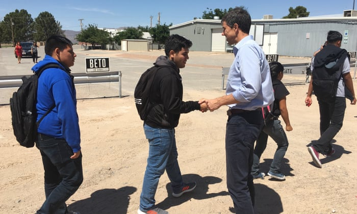 The Texas Democrat hoping to unseat Ted Cruz, one county at