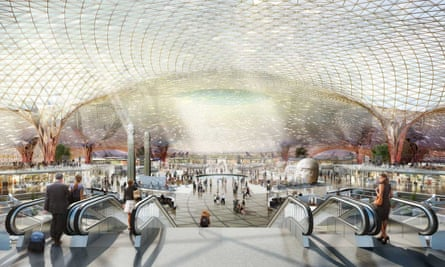 A collaboration between Foster + Partners, FR-EE and NACO won the international competition to design Mexico City's new international airport.