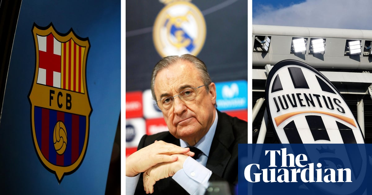 Barcelona, Madrid and Juventus at risk of Champions League ban over ESL plot
