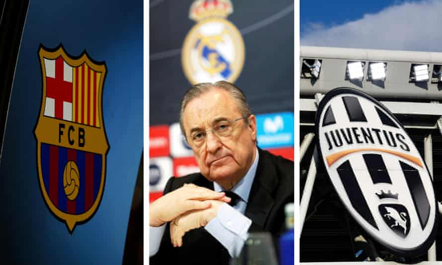 Barcelona, Real Madrid and Juventus have refused to give up on the Super League
