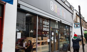 The Blighty UK cafe in Finsbury Park. 'We have created a community that is special to Blighty and everyone who works here. Our staff all live locally and are diverse in their nationalities, opinions, beliefs and customs.'