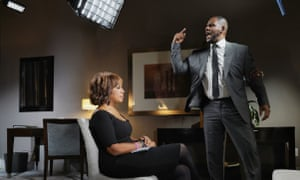 CBS THIS MORNING co-host Gayle King sat down with R&B singer R. Kelly Tuesday in Chicago for his first television interview since he was arrested on 10 sexual abuse charges. The interview airs Wednesday, March 6 and Thursday, March 7, on CBS THIS MORNING (7:00-9:00 AM) on the CBS Television Network. Photo Credit: CBS/Lazarus Jean-Baptiste - 2019CBS Broadcasting Inc. All Rights Reserved.