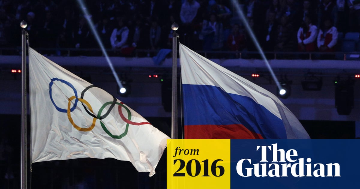 Russian state doped more than 1,000 athletes and corrupted London 2012