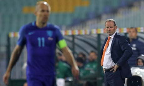 Danny Blind pays the price after Holland's delight turns to despair