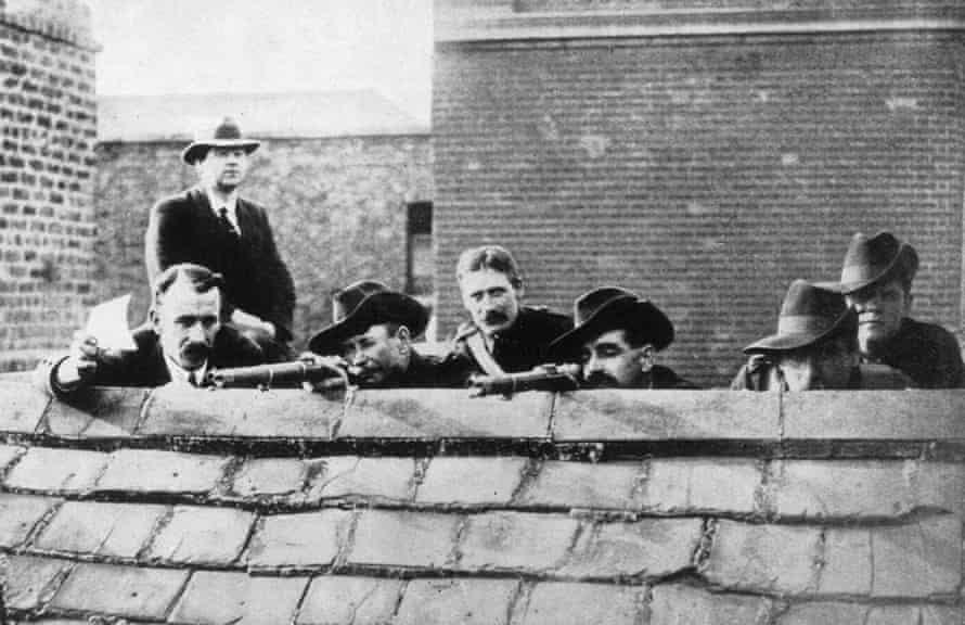 Irish rebels during the Easter Rising in 1916