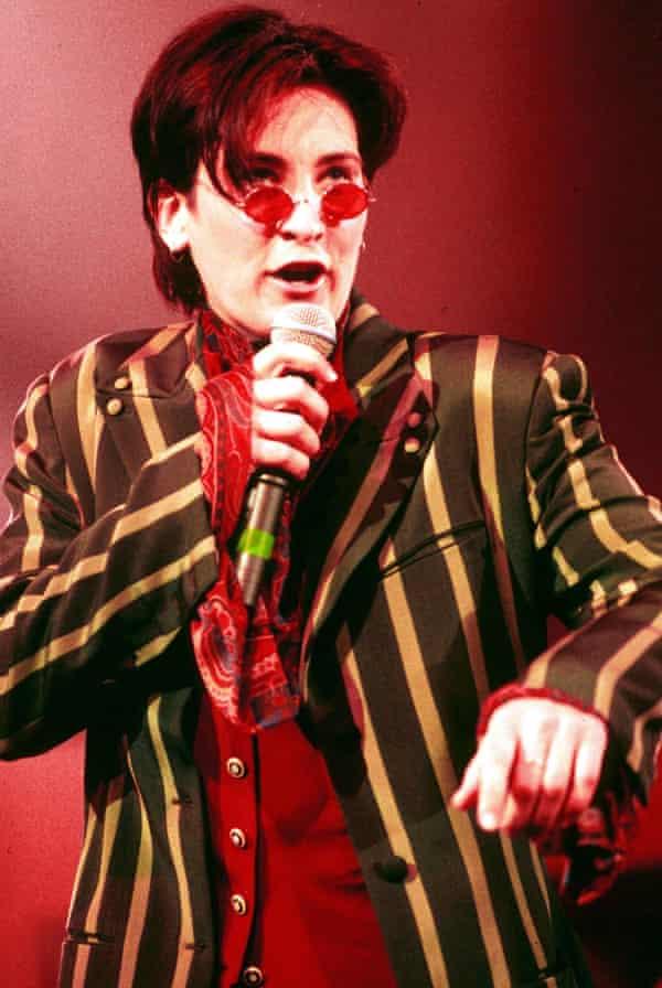 kd lang at the 1993 Brit awards.