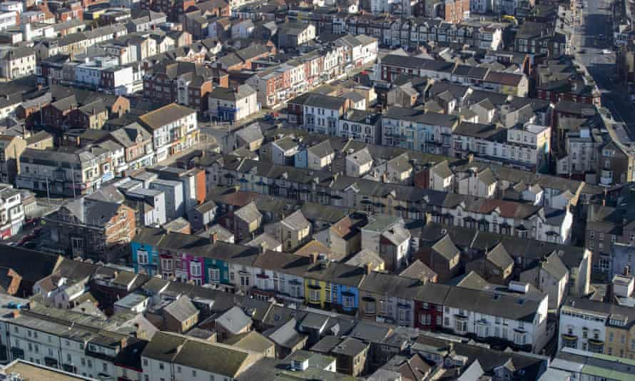 Streets of terraced houses
