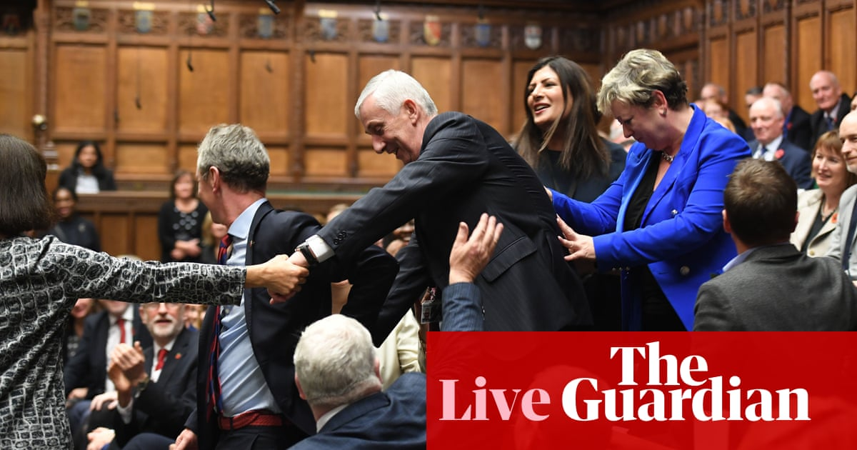 Lindsay Hoyle elected new Speaker of the House of Commons – as it happened