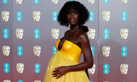 Jodie Turner-Smith at the Baftas.