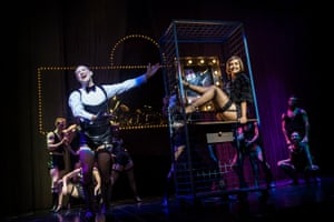 Will Young was nominated for an Olivier award for his performance as the master of ceremonies in the musical when it was staged in the West End in 2012.All photographs by Pamela Raith