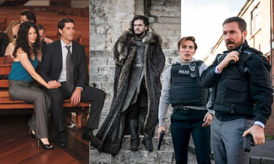 Screw up the landing and the whole thing goes to hell ... from left Lost, Game of Thrones, Line of Duty.