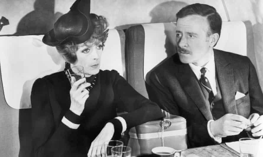 Alec McCowen, right, with Maggie Smith in Travels With My Aunt, 1972.