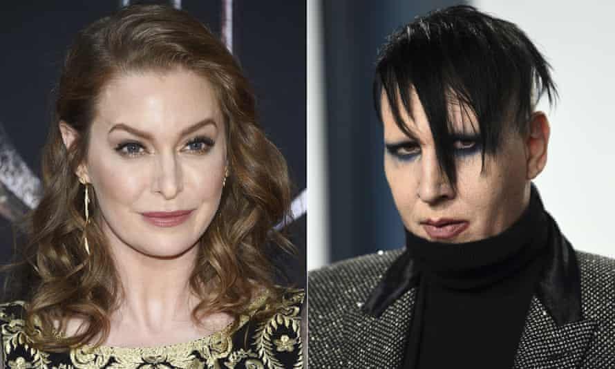 Esme Bianco and Marilyn Manson.