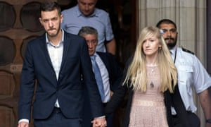 The parents of Charlie Gard arrive at the high court on 24 July