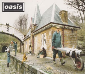 The cover of the Oasis single Some Might Say, shot at Cromford station.