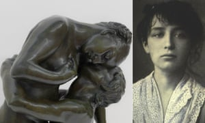 Detail from L'Abandon by Camille Claudel, photographed in 1884 when she was 20 and an assistant to Auguste Rodin.