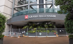 The Grand Millennium hotel in Auckland