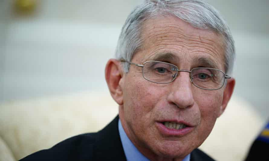 Anthony Fauci said his last interaction with Trump was on 18 May.