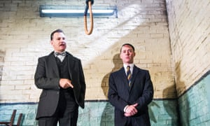 'I love this play': David Morrissey with Reece Shearsmith in Hangmen.