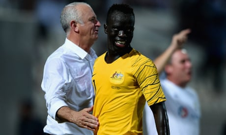 New Socceroo Awer Mabil has faced 'a lot' of racism in Australia