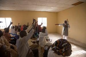 CDD training session at Kaduna health centre