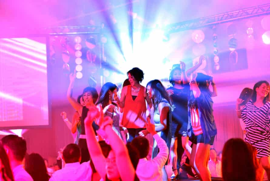 Clubbing in Tokyo.