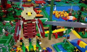 Lego model of the Great Fen