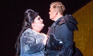 Heidi Melton and Stuart Skelton in Tristan and Isolde at the London Coliseum