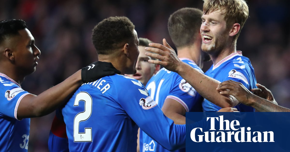 Filip Helander heads winner for Covid-19 depleted Rangers against Celtic