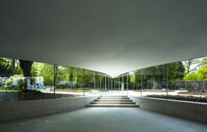 Ishigami's new glass pavilion for Park Groot Vijversburg, in the Netherlands.