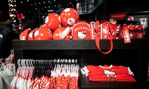 Big business: inside the club shop.