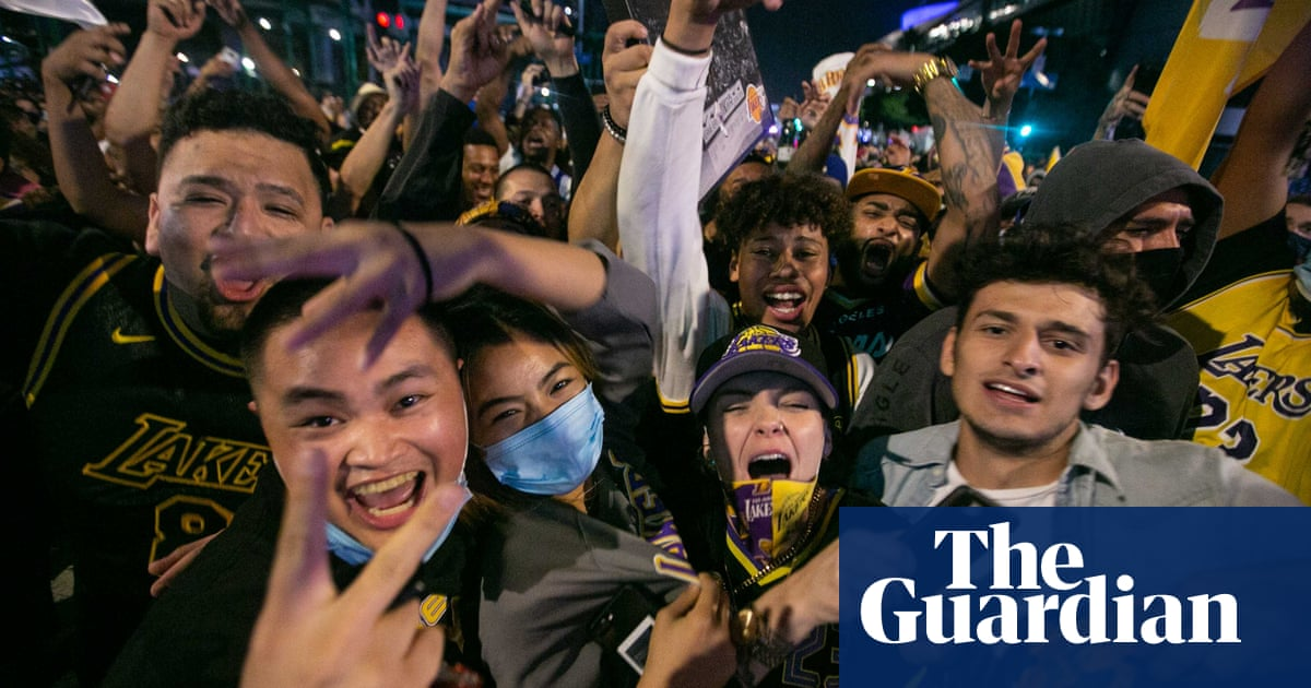 Lakers title celebrations likely added to Californias Covid-19 spike, agency says