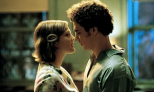 Rockwell with Drew Barrymore in Confessions of a Dangerous Mind, 2002