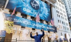 Sir Richard Branson launches Virgin Galactic
