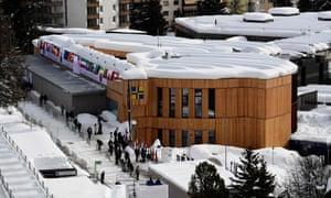 The Davos Congress Centre.
