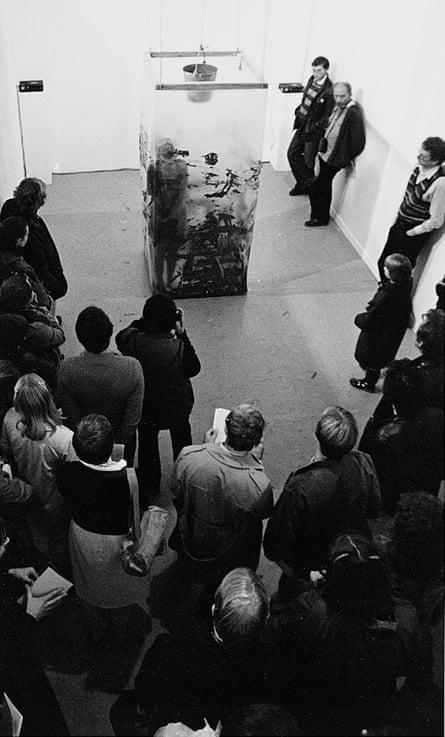 'Agonising': Hatoum's 1982 performance piece Under Siege