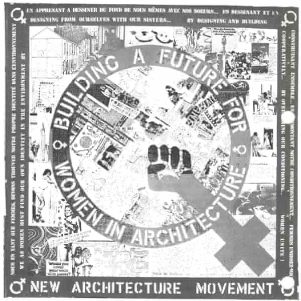 Women's handbook from the 70s New Architecture Movement.
