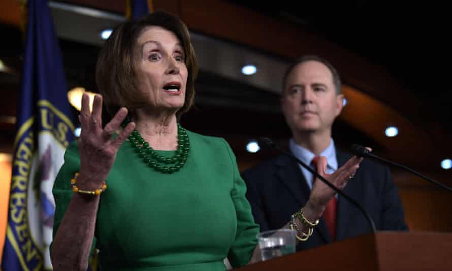 Nancy Pelosi condemned the Trump justice department as former attorney generals claimed not to have been aware of the alleged information-harvesting efforts.