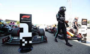 With his fifth pole at the Spanish GP Lewis Hamilton has extended his career record to 92