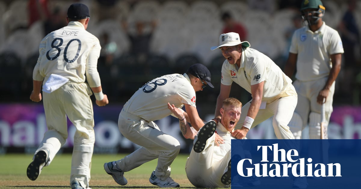 Ben Stokes strikes again as England beat South Africa to level series