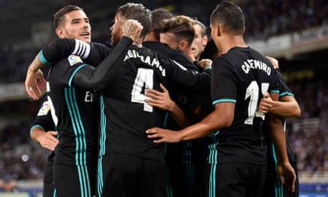 Real Sociedad 1-3 Real Madrid: La Liga – as it happened