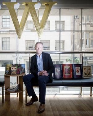 James Daunt, head of Waterstones.
