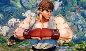 Street Fighter character Ryu